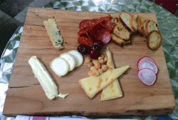 Eat all the food Cheese & Charcuterie Board by Afrim Pristine