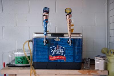 Samuel Adams Beer Taps